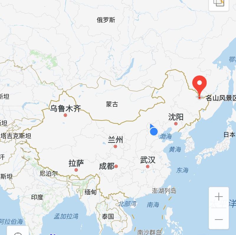 """""""鸡冠""""——萝北县名山风景区的位置"""