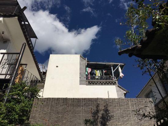 日式和风院子手绘