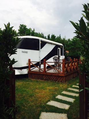 崇明东平国家森林公园房车