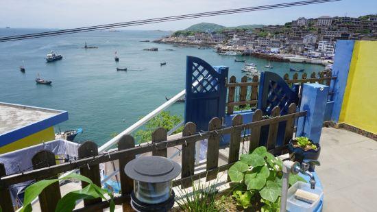 舟山东极岛远方蔚蓝假日驿站房间照片