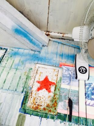 墙角干净暖人心的简笔画