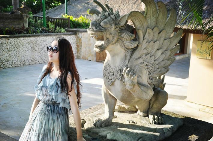 巴厘岛的雕塑