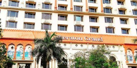 印度捷特航空公司+浦那邦德花園喜來登大酒店