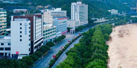 中國東方航空蘭州高鐵站七里河大橋亞朵酒店