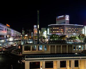 香港-岡山自由行 日本航空公司岡山站前大和ROYNET酒店