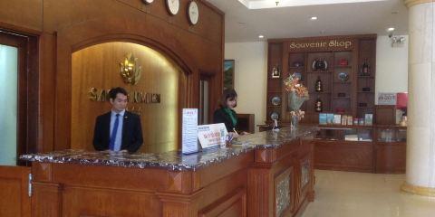 越南航空公司+榮市城西貢金連酒店