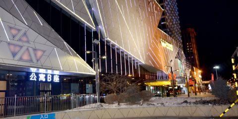 海南航空齊齊哈爾萬達金色水岸公寓酒店