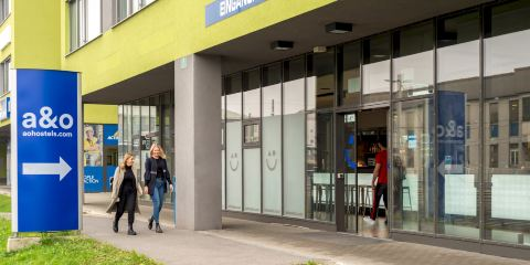 法國航空公司格拉茨中央火車站A&O經濟連鎖酒店