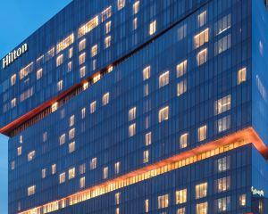 香港-廣州自由行 國泰港龍航空-廣州天河希爾頓酒店