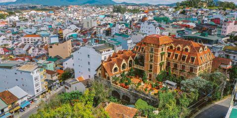 越南航空公司沙非大叻酒店