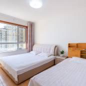青島金沙灘範範美麗的海景公寓