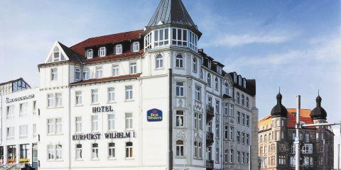 德國漢莎航空+威廉選帝侯大街貝斯特韋斯特酒店