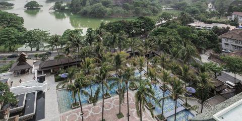 馬來西亞航空公司察殿仰光皇家湖酒店