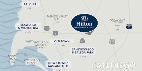 國泰航空+聖迭戈米申山谷希爾頓酒店