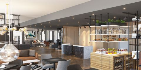 荷蘭皇家航空公司慕尼黑柏林東站萬豪居家酒店