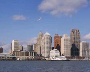 香港-底特律自由行 美國達美航空公司-底特律市中心希爾頓逸林酒店--謝爾比堡