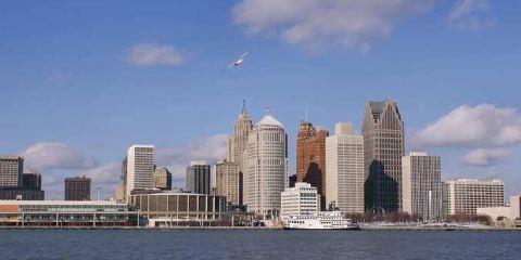 美國達美航空公司底特律市中心希爾頓逸林酒店--謝爾比堡