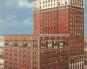 香港-底特律自由行 法國航空公司-底特律市中心希爾頓逸林酒店--謝爾比堡