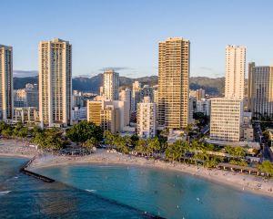 香港-夏威夷·火奴魯魯自由行 中國國際航空公司-阿斯頓威基基海灘大廈酒店