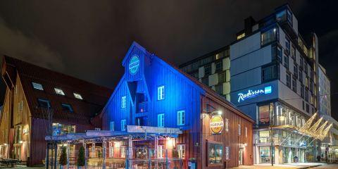 北歐航空特羅姆瑟麗笙藍標酒店