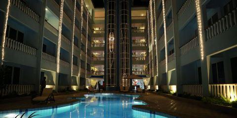 土耳其航空+瑪瑙貝殼海灘公寓