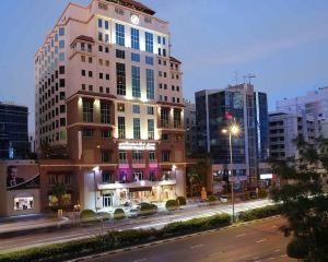 香港-杜拜自由行 印度捷特航空公司-迪拜卡爾頓宮酒店
