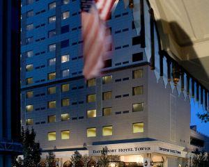 香港-斯波坎自由行 美國達美航空公司達文波特大樓簽名收藏酒店