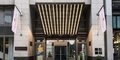 印度航空公司紐約朗廷酒店,第五大道