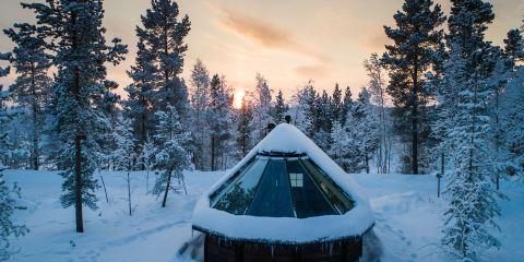 芬蘭航空公司+伊伐洛奧羅拉村度假酒店