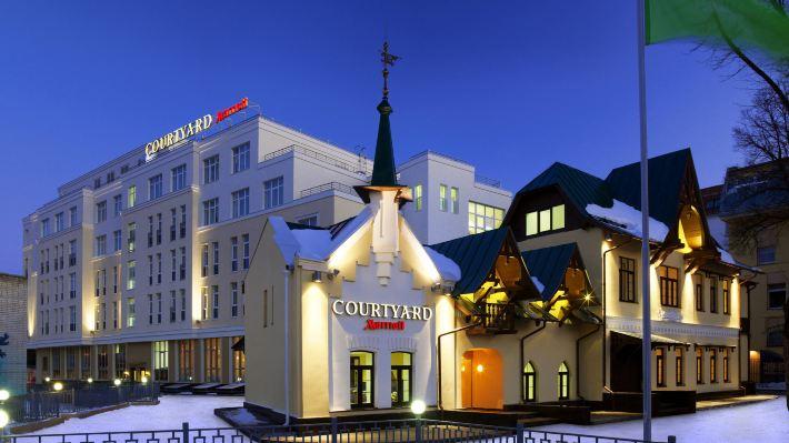 下諾夫哥羅德市中心萬怡酒店
