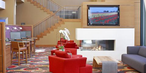 美國達美航空公司+温哥華市中心萬豪費爾菲爾德酒店