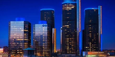 法國航空公司+底特律市中心萬怡酒店