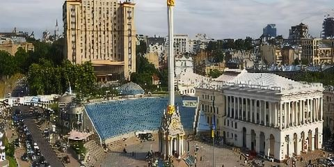 AIR ASTANA+烏克蘭大酒店