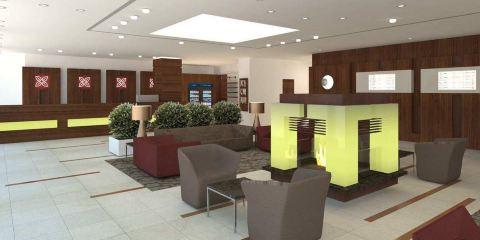 阿聯酋航空+希爾頓花園法蘭克福空港酒店