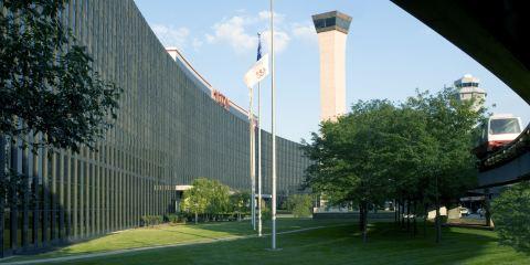 美國航空公司芝加哥奧黑爾機場希爾頓酒店