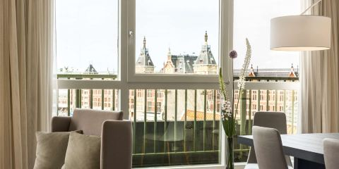 中國東方航空公司+NH典藏阿姆斯特丹巴比鬆宮酒店
