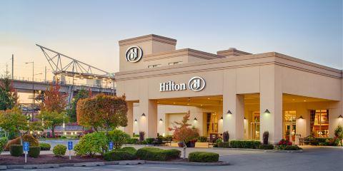 美國航空公司希爾頓西雅圖機場酒店和會議中心