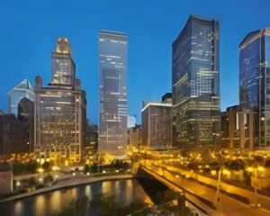 香港-芝加哥自由行 中華航空公司-芝加哥朗廷酒店
