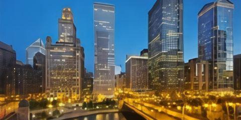 中華航空公司芝加哥朗廷酒店