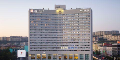 俄羅斯航空+摩爾曼斯科阿茲姆特酒店
