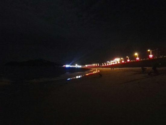 湄洲夜景图片_湄洲岛观澜度假山庄预订价格,联系电话\位置地址【携程酒店】